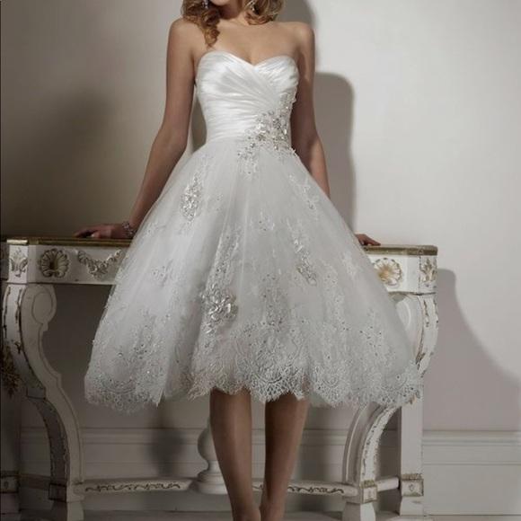 Maggie Sottero Dresses | Bridal Wedding Gown Dress Lace | Poshmark